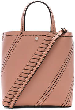 Proenza Schouler Small Grained Leather Hex Tote
