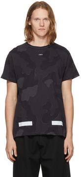 Off-White SSENSE Exclusive Black Camo T-Shirt
