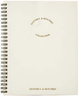Dooney & Bourke Refills Large Spiral Planner For W05