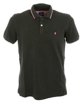 Jaggy Men's Green Cotton Polo Shirt.