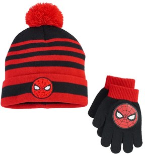 Marvel Boys Spider-Man Hat & Gloves Set