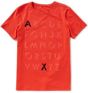 Armani Exchange Alphabet Crew Short-Sleeve Tee