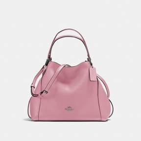 COACH Coach New YorkCoach Edie Shoulder Bag 28 - DUSTY ROSE/DARK GUNMETAL - STYLE