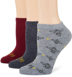 Libby Edelman 3 Pair No Show Socks - Womens