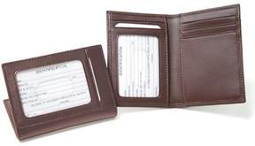 Royce Leather ID Credit Card Case Wallet in Genuine Leather