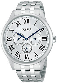 Pulsar Men's Multifunction Stainless Steel Bracelet Watch
