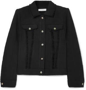 IRO Paloma Cotton-tweed Jacket - Black