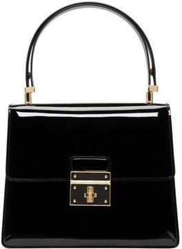 Dolce & Gabbana Black Flap Lock Bag
