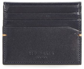 Ted Baker Men's Brights Leather Card Case - Blue
