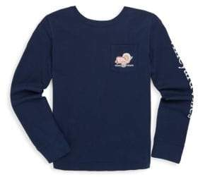 Vineyard Vines Toddler's, Little Girl's& Girl's Turkey Whale Cotton Sweatshirt
