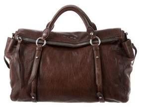 Miu Miu Distressed Vitello Bag