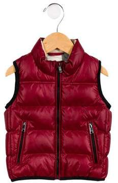 Burberry Boys' Quilted Puffer Vest