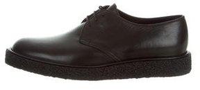 Saint Laurent Leather Derby Shoes