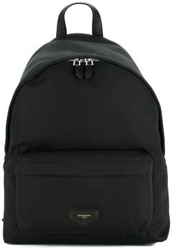Givenchy logo plaque backpack