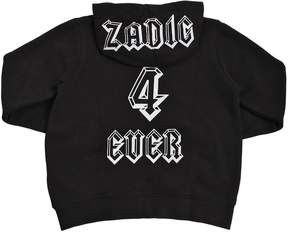Zadig & Voltaire Zadic 4 Ever Hooded Cotton Sweatshirt