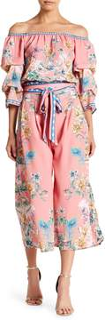 Flying Tomato Floral Print Pants