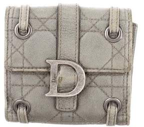 Christian Dior Cannage Leather Wallet