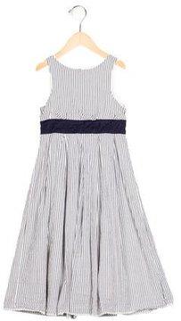 Jacadi Girls' Striped Sleeveless Dress