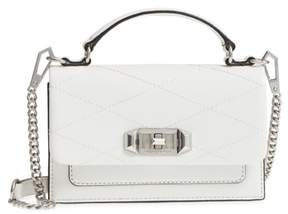 Rebecca Minkoff Small Je T'aime Leather Crossbody Bag - WHITE - STYLE