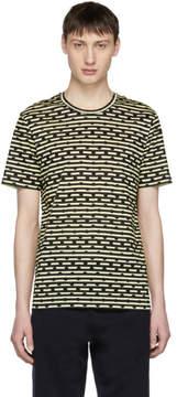 Burberry Navy Stripe and Polka Dot Matfield T-Shirt