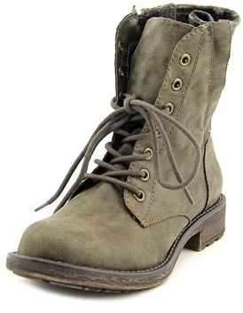 American Rag Essex Round Toe Synthetic Mid Calf Boot.