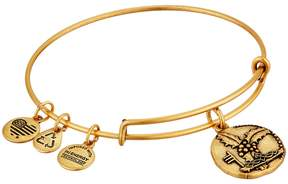 Alex and Ani Ruler of the Woods - Crowned with Light Holly Bangle Bracelet