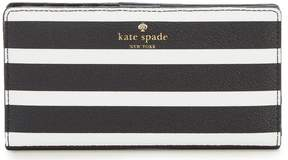 Kate Spade Hyde Lane Stripe Stacy Continental Wallet