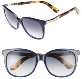 Kate Spade Women's Julieanna 54Mm Sunglasses - Blue/ Gold