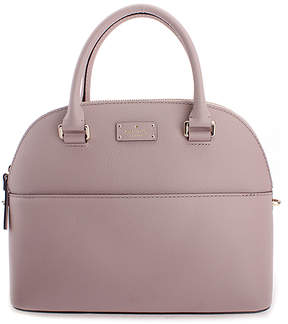 Kate Spade Almondine Carli Grove Street Leather Satchel
