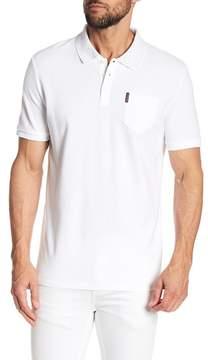 Ben Sherman Print Collar Polo Shirt
