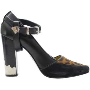 Toga Pulla Black Suede High heel