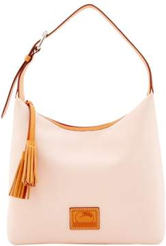 Dooney & Bourke Patterson Leather Paige Sac Shoulder Bag - BLUSH - STYLE