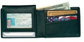 Royce Leather Men's Removable Id Pass Case Wallet 104-5.