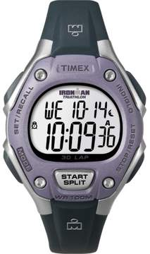 Timex Corporation Ironman 30 Lap Mid Size Watch - Purple T5k410
