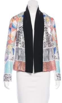Clover Canyon Sequined Open-Front Blazer