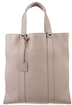 Montblanc Large Leather Tote