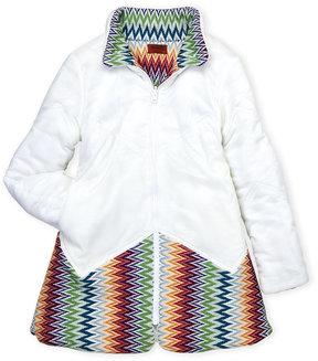 Missoni Girls 7-16) Reversible Knit Paneled Jacket