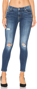 7 For All Mankind The Distressed Ankle Skinny.