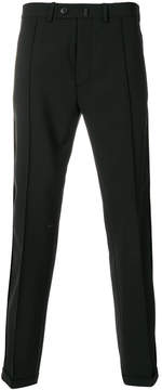 Diesel Black Gold turn-up hem tailored trousers