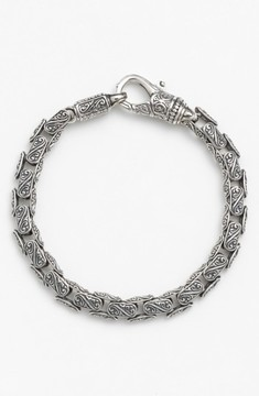 Konstantino Men's 'Classics' Carved Bracelet
