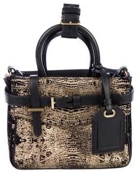 Reed Krakoff Metallic Micro Boxer Bag