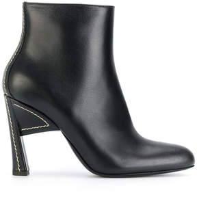 Marni almond toe structural boots