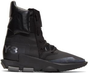 Y-3 Black Noci High Sneakers