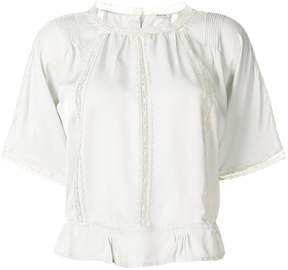 Bellerose lace panel blouse