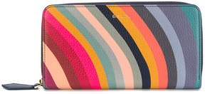 Paul Smith 'Swirl' print zip-around purse