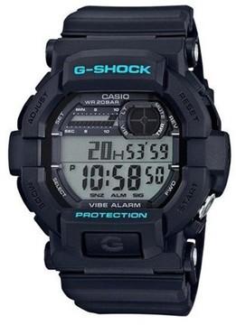 Casio 2018 GD350-1CC Watch G-Shock Vibration Alarm Black
