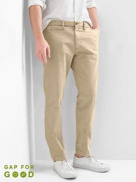 Gap Vintage wash slim fit khakis with stretch