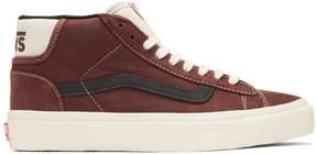 Vans Brown OG Mid Skool Lite LX Sneakers
