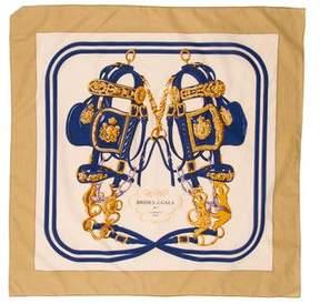 Hermes 70cm Cotton Scarf