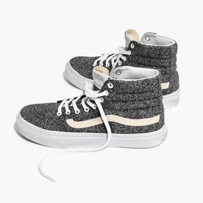Madewell Vans® Unisex SK8-Hi High-Top Sneakers in Marled Fabric